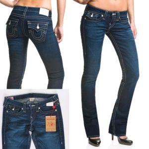 TRUE RELIGION Swarovski Crystal Jeans New Sz 28